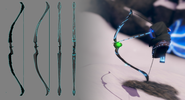 Creating the Bow for QuiVr - a foray into art outsourcing.